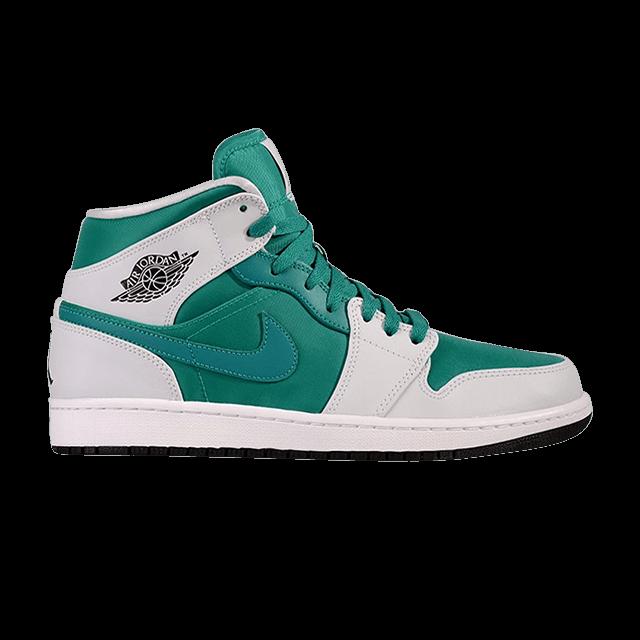 Air Jordan 1 Mid 'Lush Teal'
