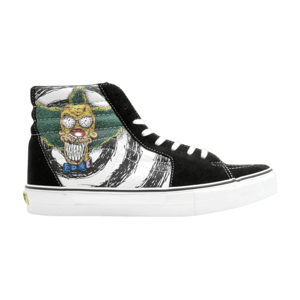 Tony Munoz X The Simpsons X Sk8 Hi Lx Krusty The Clown Vans 6520899 Goat