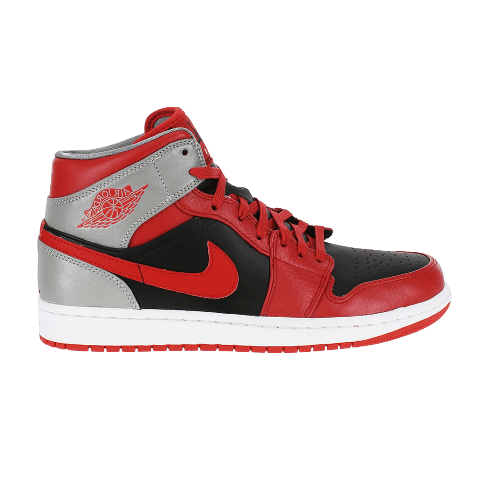 Air Jordan 1 Mid 'Fire Red' - Air Jordan - 554724 603 | GOAT