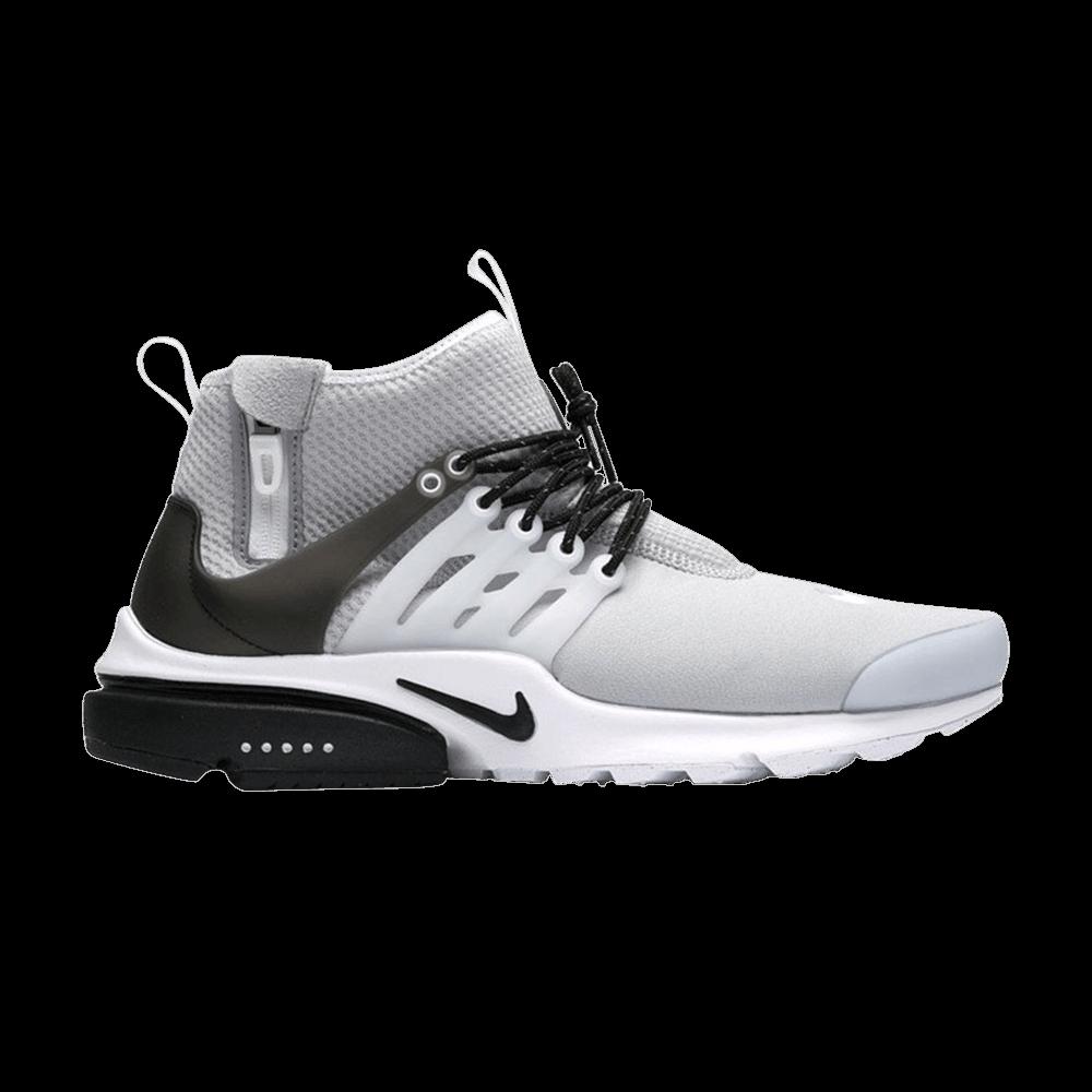 Air Presto Mid Utility 'Wolf Grey' - Nike - 859524 005 | GOAT