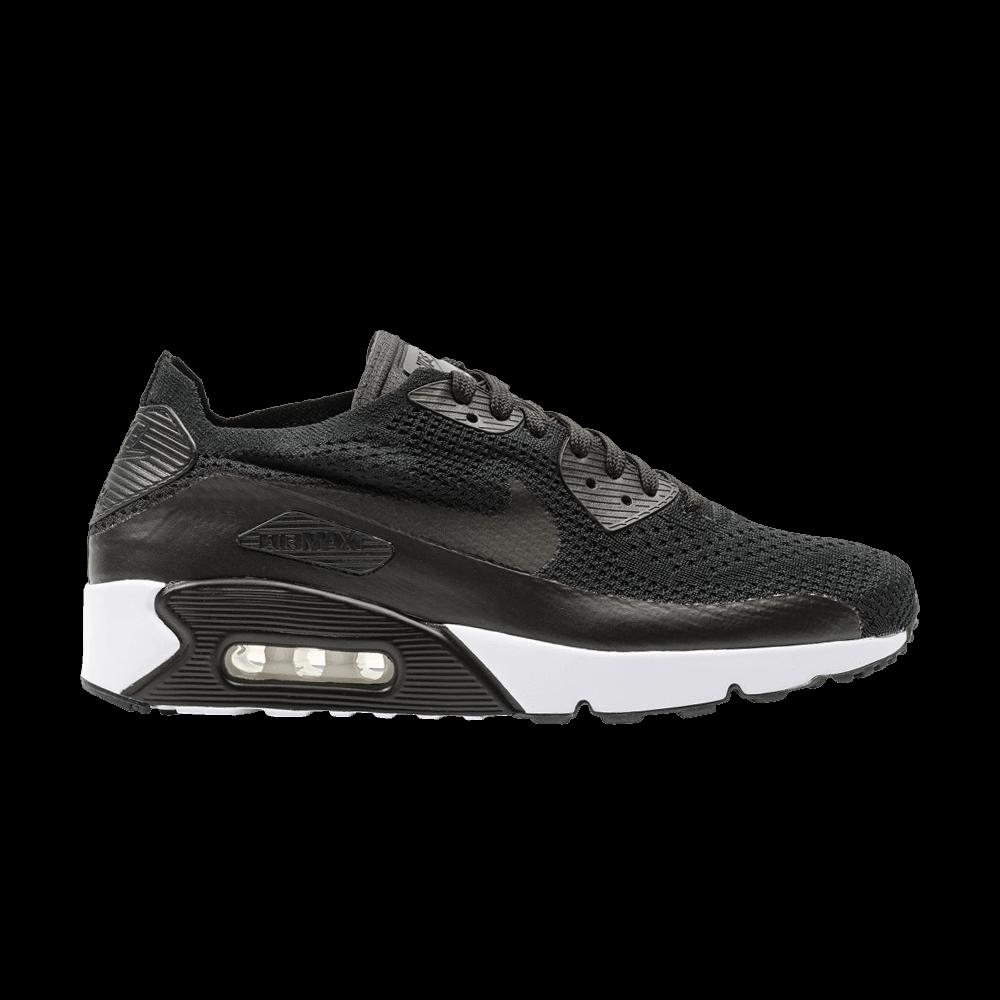 Air Max 90 Ultra 2.0 Flyknit 'Black' - Nike - 875943 004   GOAT