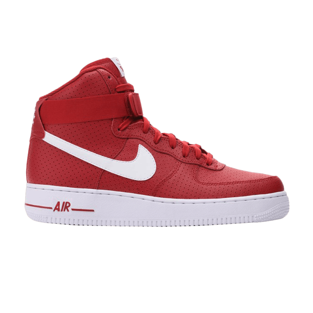 Air Force 1 High 'Gym Red Perforated'
