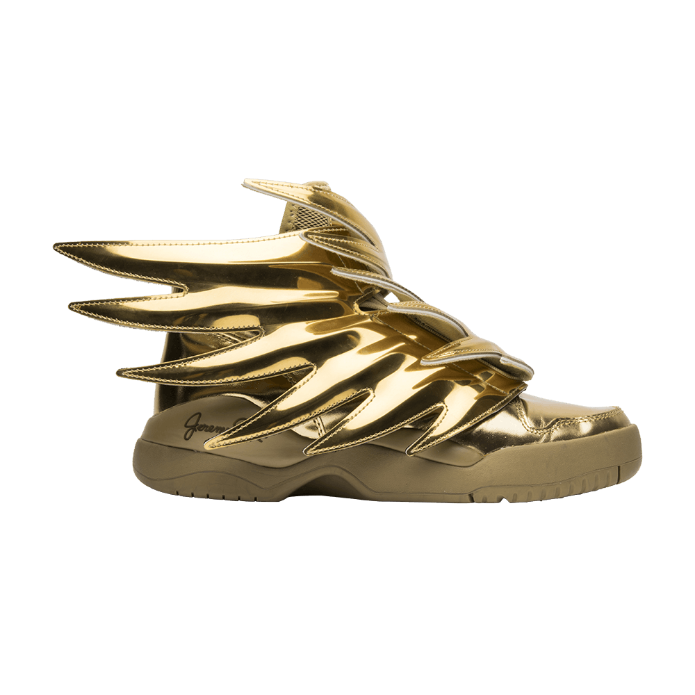 Jeremy Scott X Wings 3 0 Solid Gold Adidas B35651 Goat