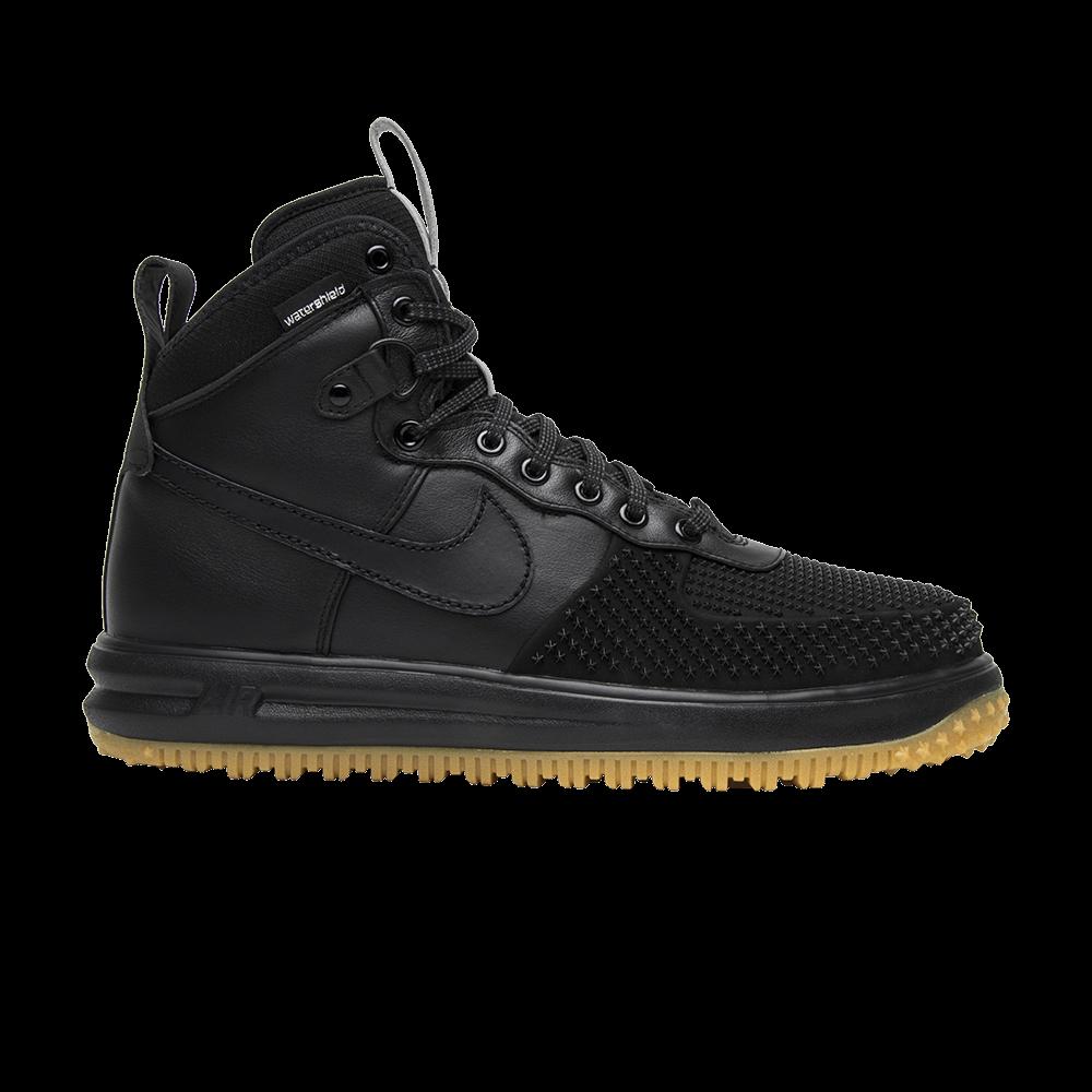 Lunar Force 1 Duckboot 'Black Gum' - Nike - 805899 003 | GOAT