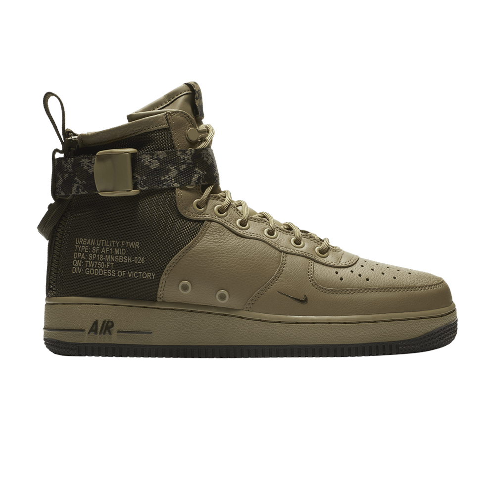 Nike Air Force 1 Mid vede militare
