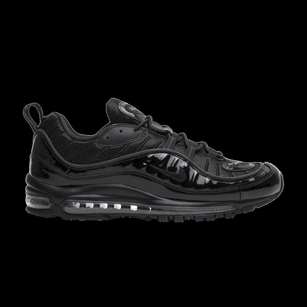Establecer Significado O cualquiera  Supreme x Air Max 98 'Black' - Nike - 844694 001 | GOAT
