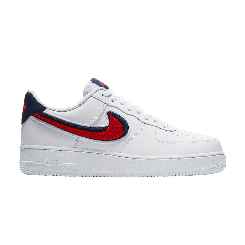 Air Force 1 07 LV8 'Chenille Swoosh' Nike 823511 106 | GOAT