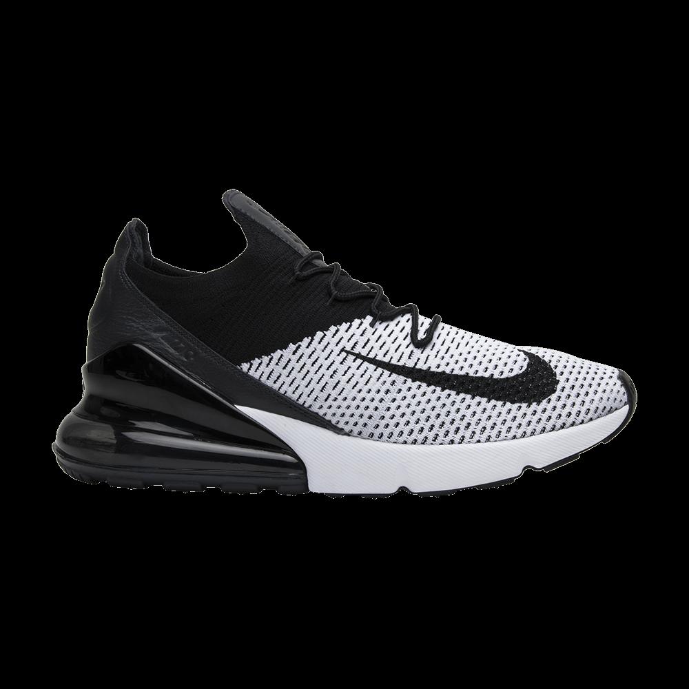 Brillar orar De nada  Air Max 270 Flyknit 'White Black' - Nike - AO1023 100 | GOAT