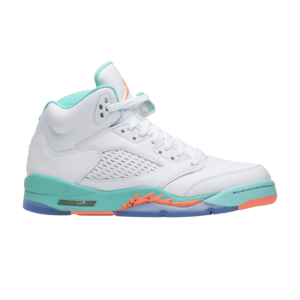 air jordan 5 retro light aqua