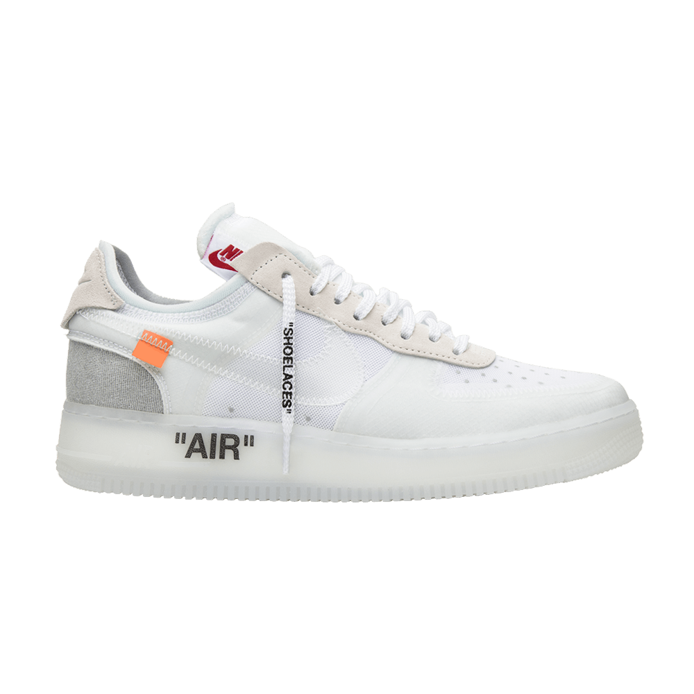 Off-White x Air Force 1 Low 'The Ten' - Nike - AO4606 100 | GOAT