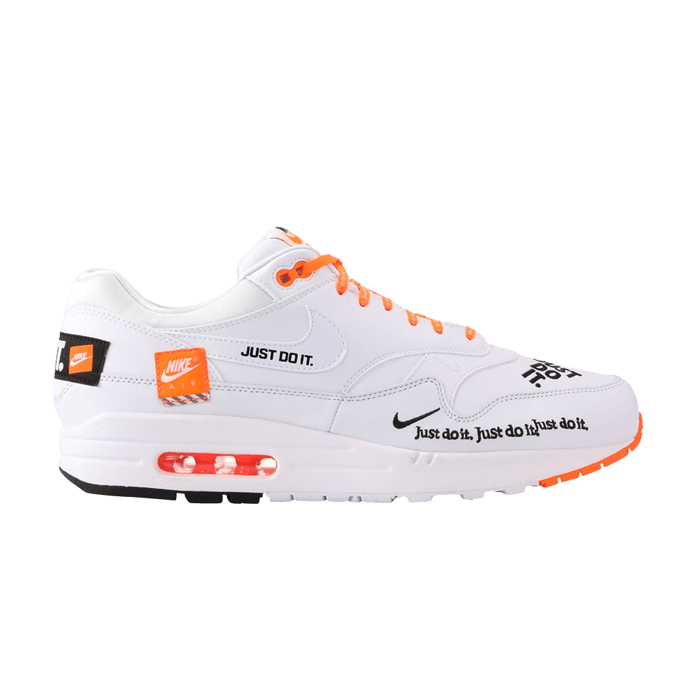 Air Max 1 'Just Do It' - Nike - AO1021 100   GOAT