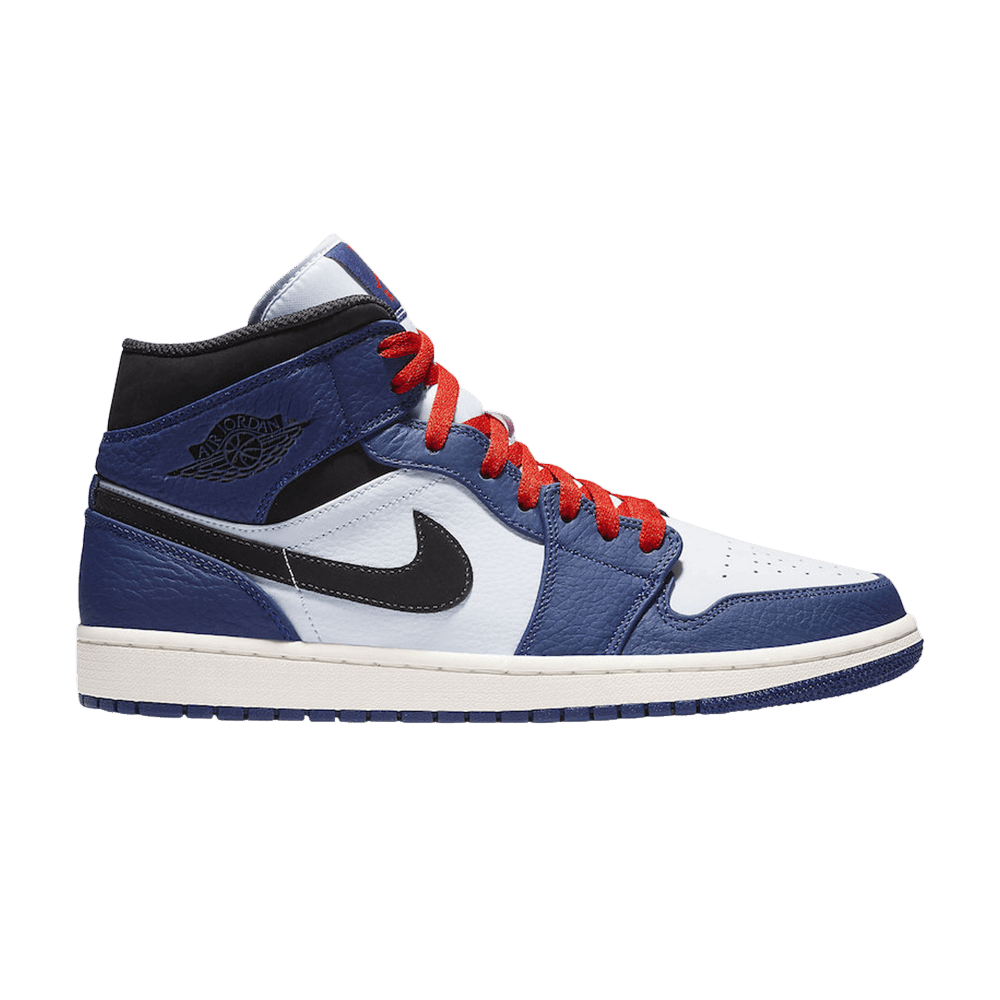 Air Jordan 1 Retro Mid SE 'Deep Royal Blue' - Air Jordan ...