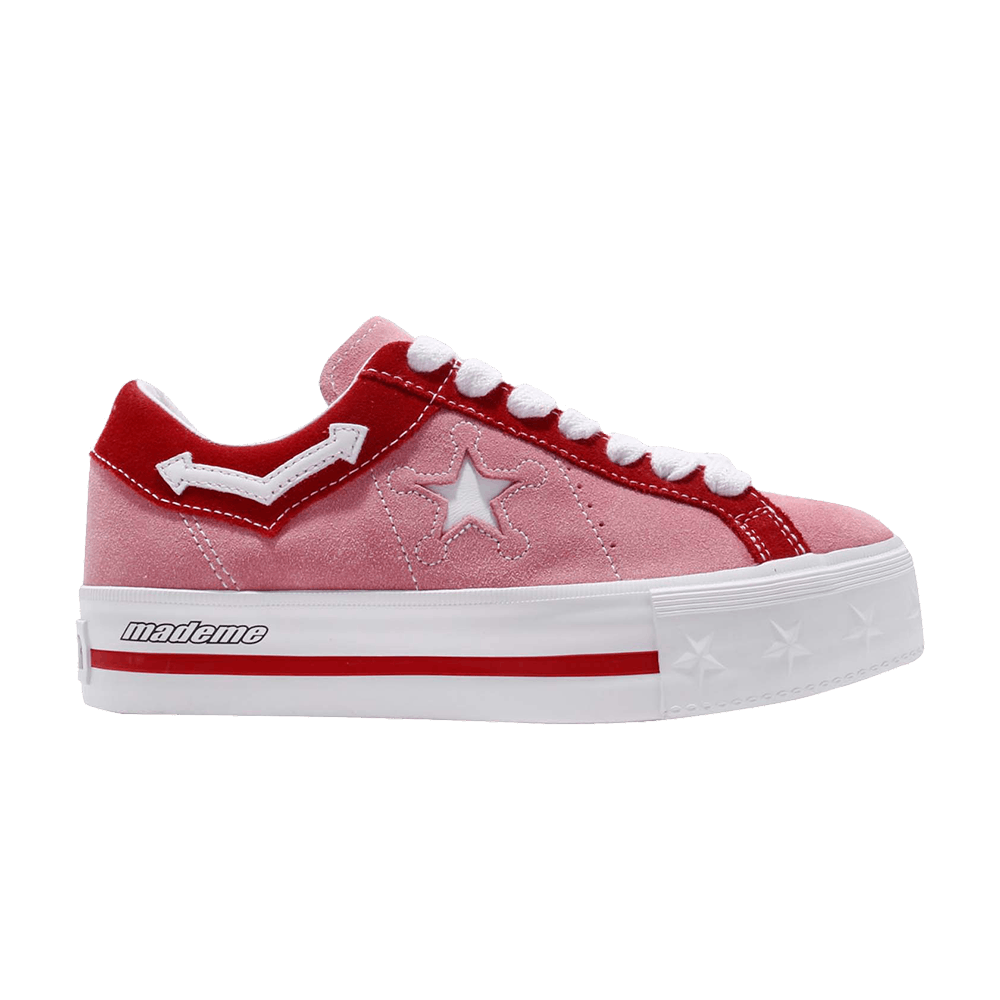 converse one star platform rose