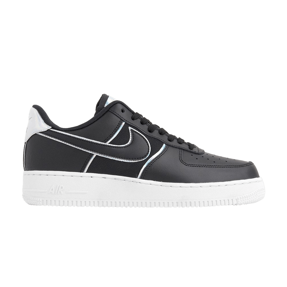 Air Force 1 Low '07 LV8 'Black Iridescent Outline'