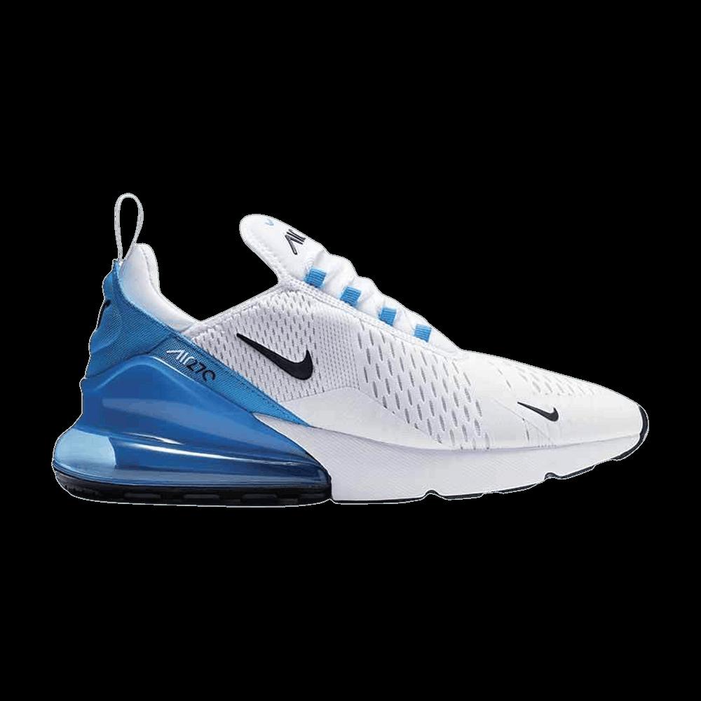 Air Max 270 White Photo Blue Nike Ah8050 110 Goat