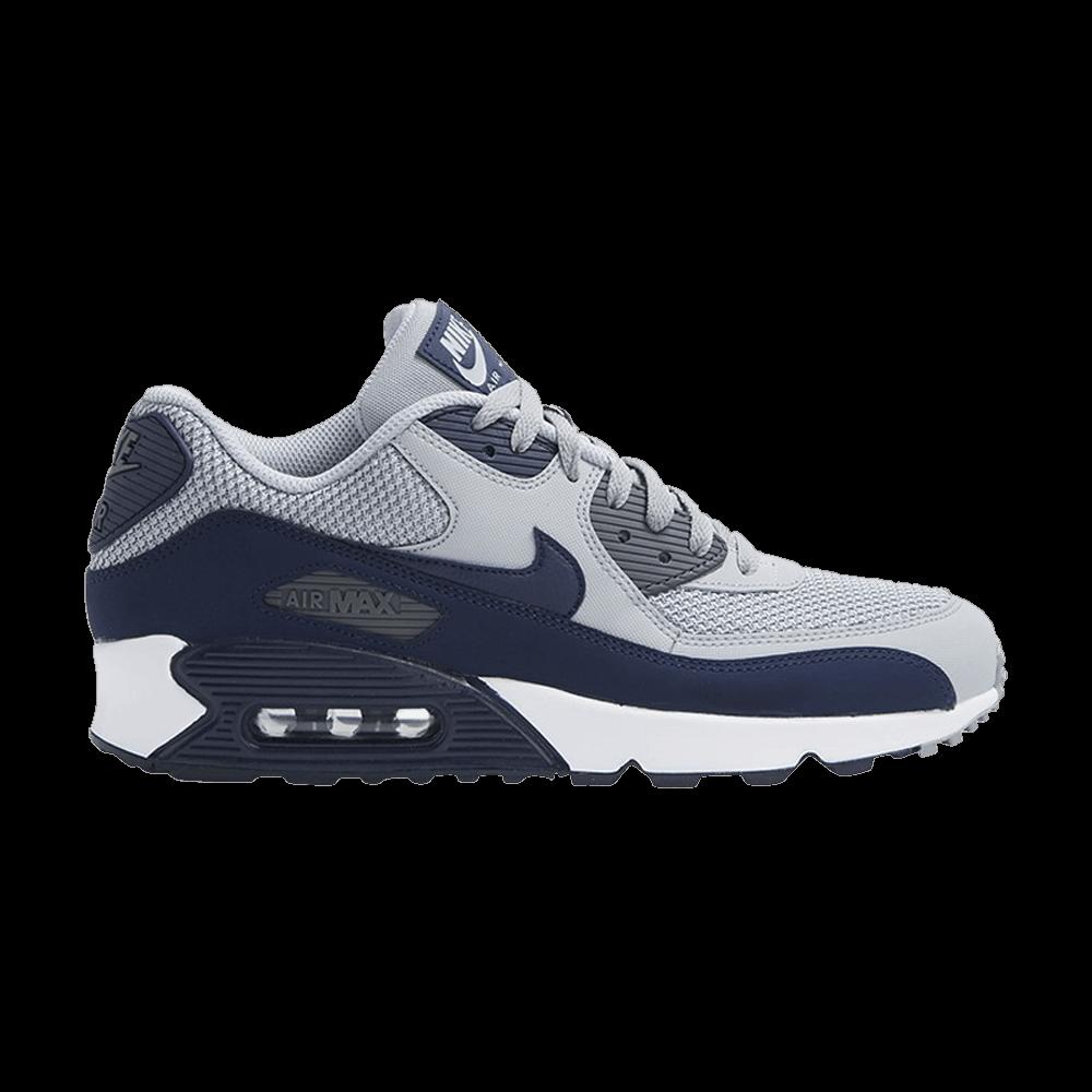 Air Max 90 Essential 'Grey Binary Blue' - Nike - 537384 064 | GOAT