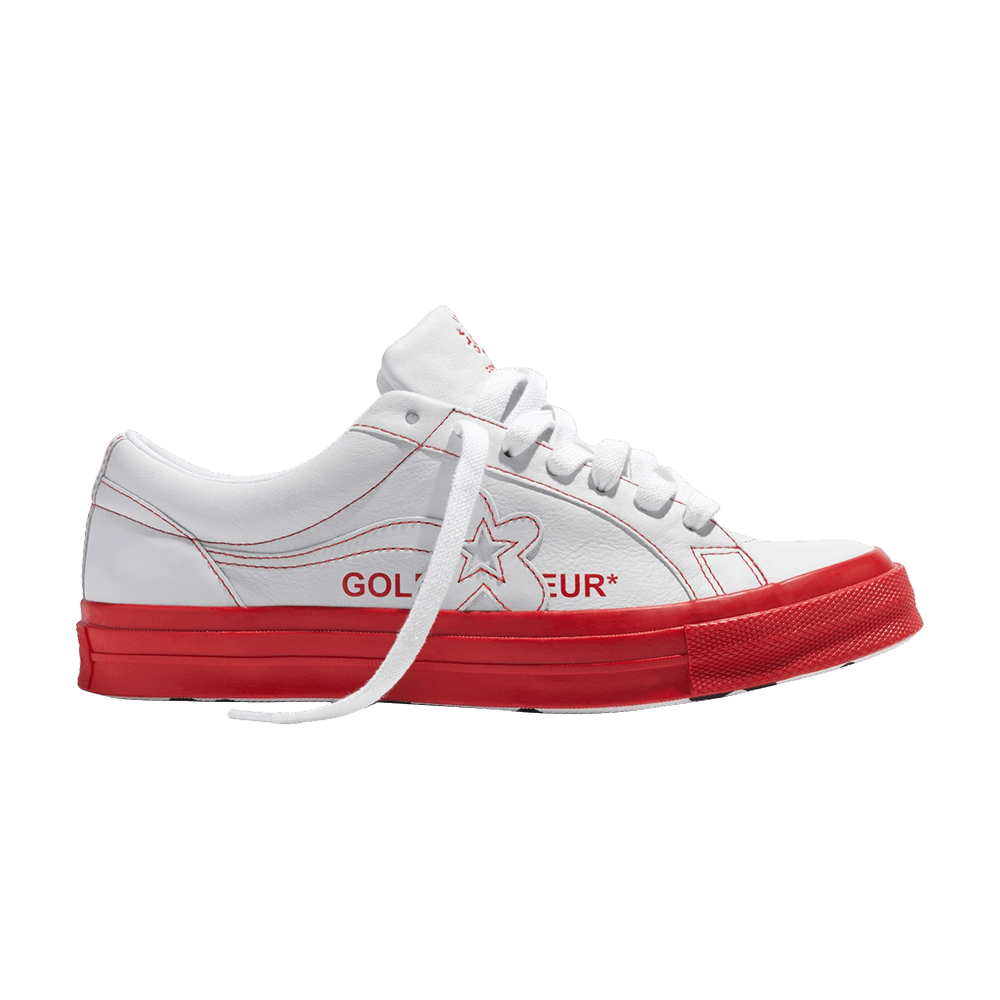 Golf Le Fleur X One Star Ox Racing Red Converse 164026c Goat