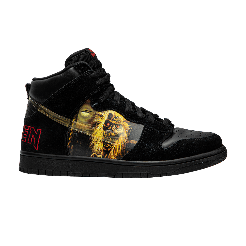 replica iron maiden nike dunks