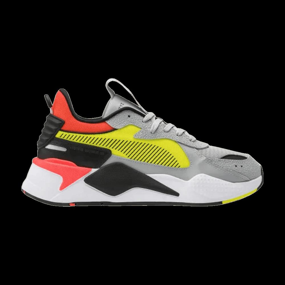 RS-X Hard Drive 'Grey Yellow Red' - Puma - 369818 01 | GOAT