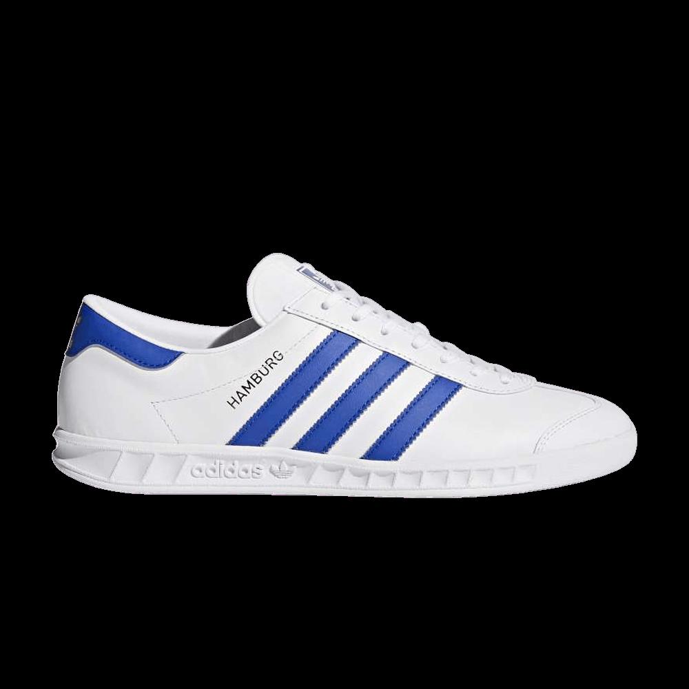 Hamburg 'White Bold Blue' - adidas - BY9758 | GOAT