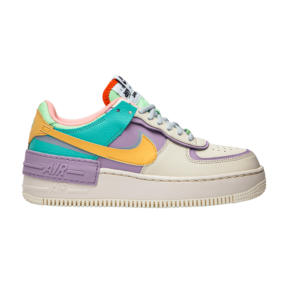 nike air force 1 shadow pastello