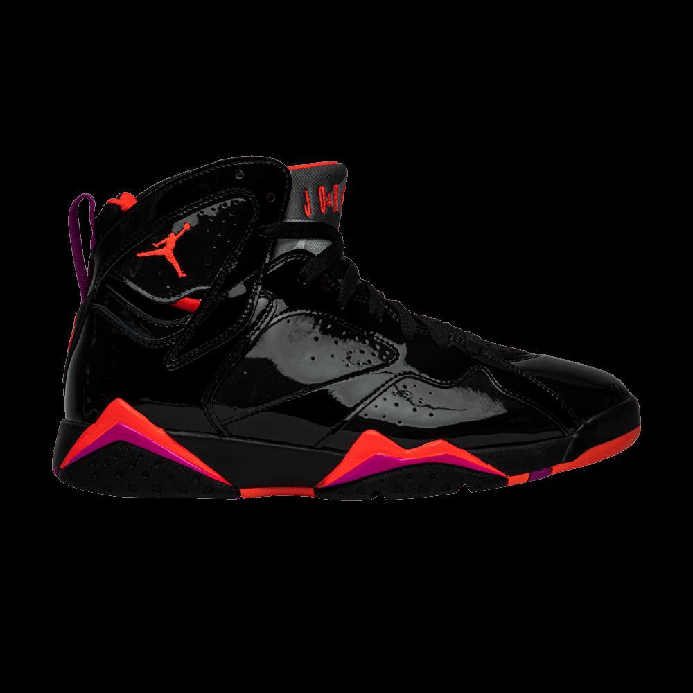 Wmns Air Jordan 7 Retro 'Black Gloss'