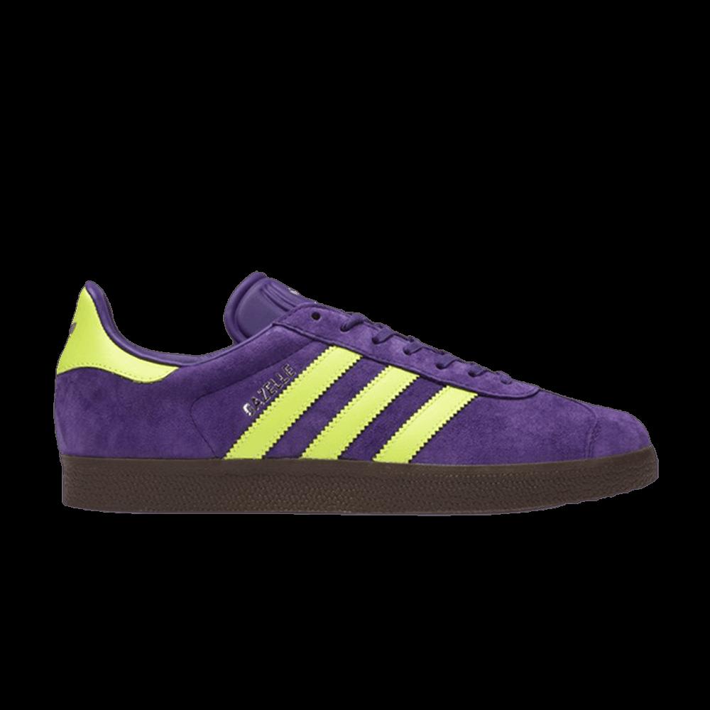 Gazelle 'Unity Purple Yellow' - adidas - BB5262   GOAT