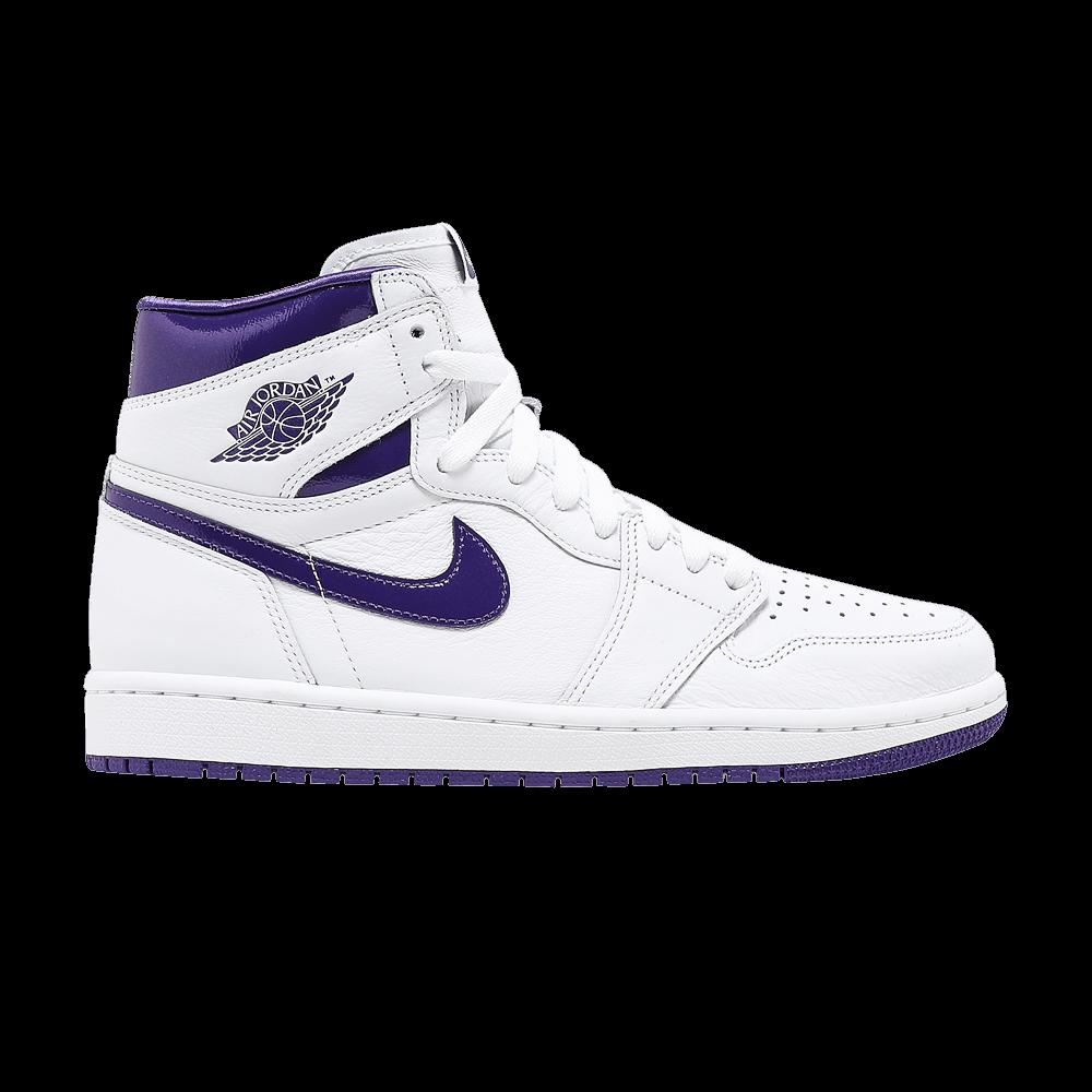 Wmns Air Jordan 1 High OG 'Court Purple' - Air Jordan - CD0461 151 ...