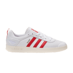 timeless design f4a92 17d6c adidas Palace Pro  White Red Gold