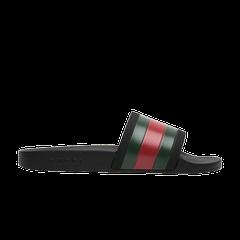 eb0b868cc Gucci Pursuit '72 Rubber Slide 'Black'