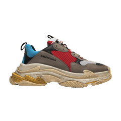 21aae75b1e83 Balenciaga Triple S Trainer  Blue Red  2018