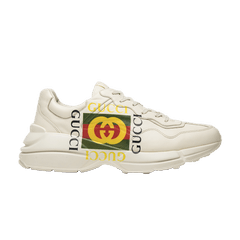 417144aa397 Gucci Rhython Leather Sneaker  Square Logo
