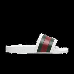 0a45c4de43ea Gucci Pursuit  72 Rubber Slide  White