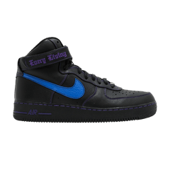 Nike Vlone x Air Force 1 High 'Blue Swoosh' Sample
