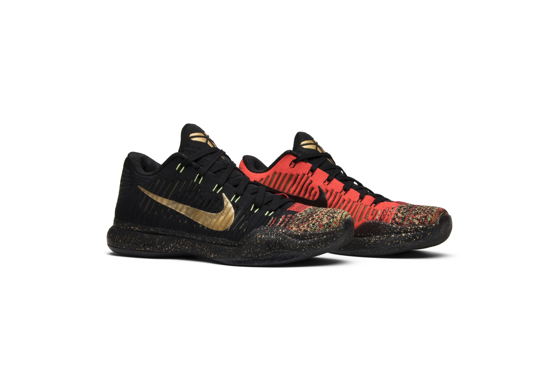 Kobe 10 Elite Low \'Christmas\' - Nike - 802560 076 | GOAT