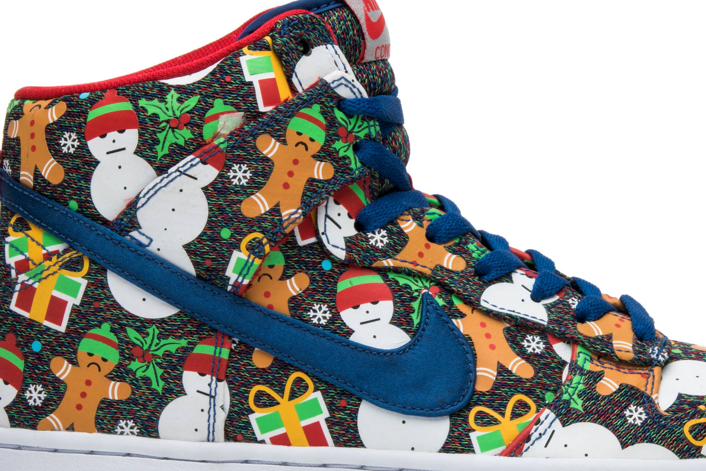 Dunk High SB Prm Cncpts \'Ugly Christmas Sweater\' - Nike - 635525 036 ...