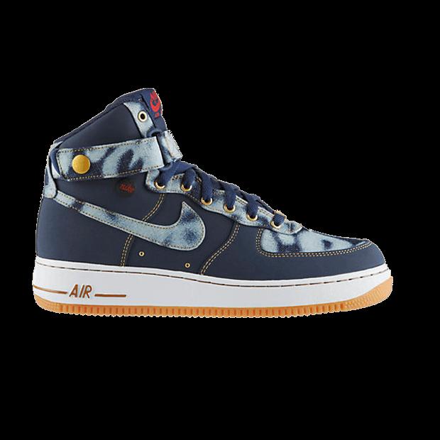 Air Force 1 High 07 'Denim' Nike 631039 400   GOAT
