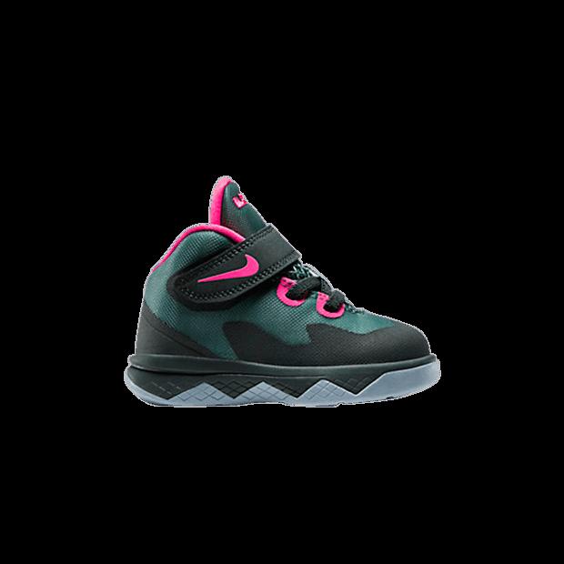 Nike Soldier VIII - Infant - Basketball - Mineral Slate Hyper Punch Seaweed Magnet Grey - 653647 300
