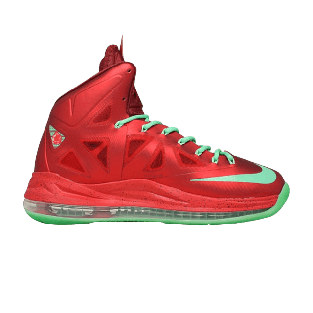 best loved e47f9 0da1c LeBron 10  Christmas  - Nike - 541100 600   GOAT