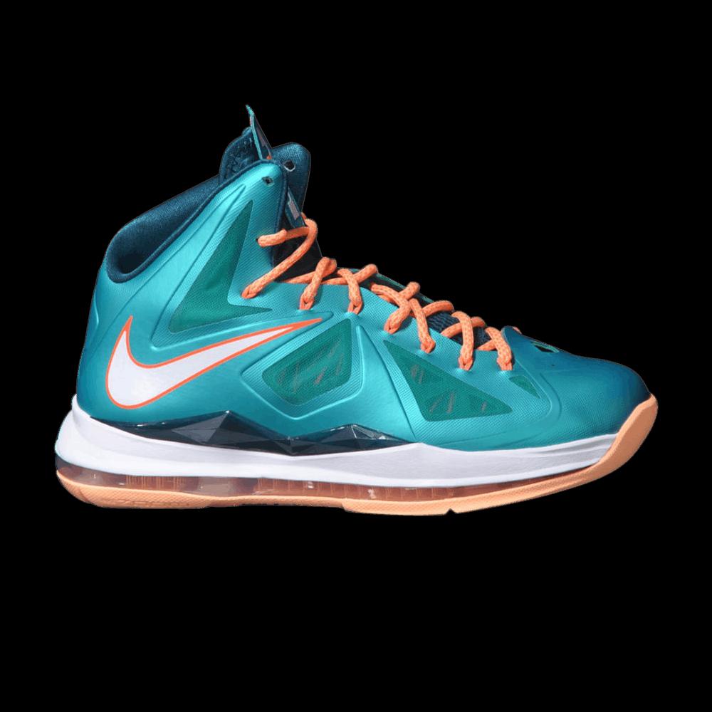 006e7cd1c60d LeBron 10  Miami Dolphins  - Nike - 541100 302