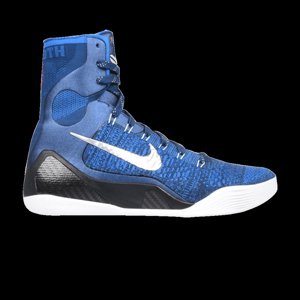 cheap for discount 64220 5eed1 Kobe 9 Elite  Brave Blue  - Nike - 630847 404   GOAT