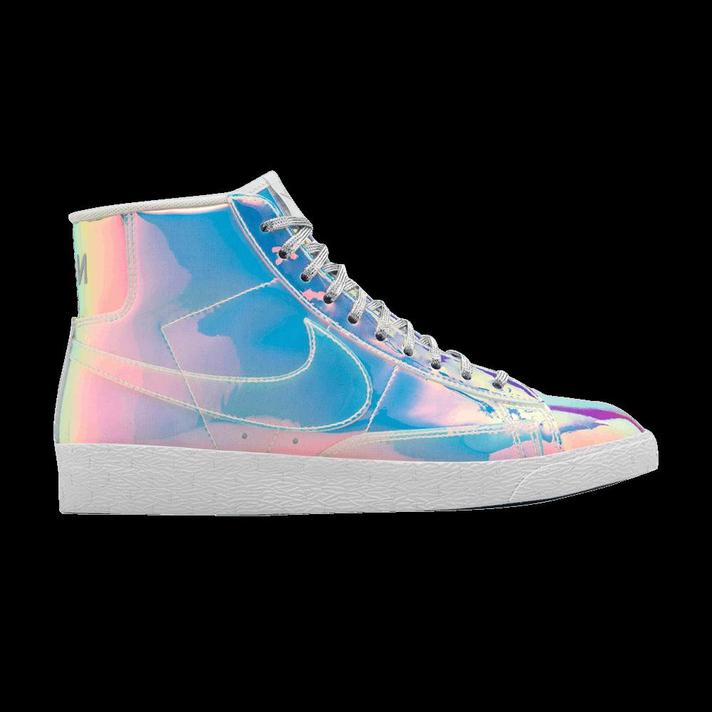 Nike Wmns Blazer Mid Prm Qs Multi Color Iridescent Damen