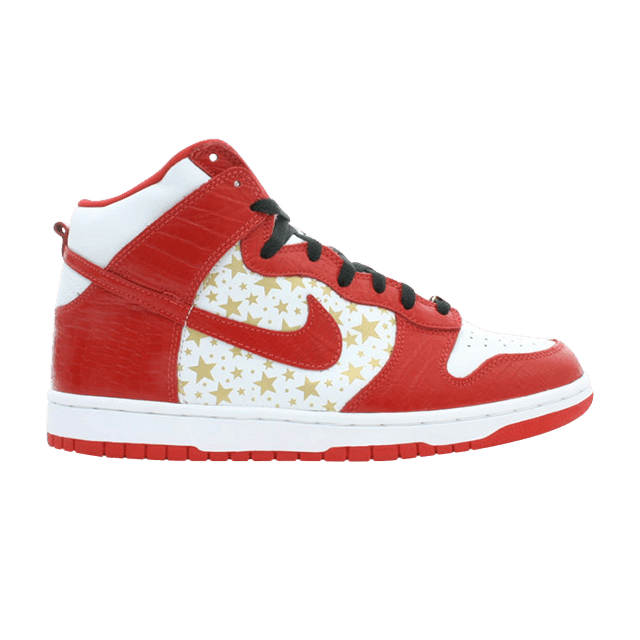 pretty nice 4d1ad 2f616 Supreme x Dunk High Pro SB  Red  - Nike - 307385 161   GOAT