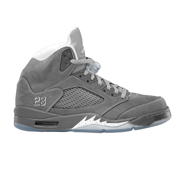 sports shoes c6c35 8cce1 Air Jordan 5 Retro  Wolf Grey  - Air Jordan - 136027 005   GOAT