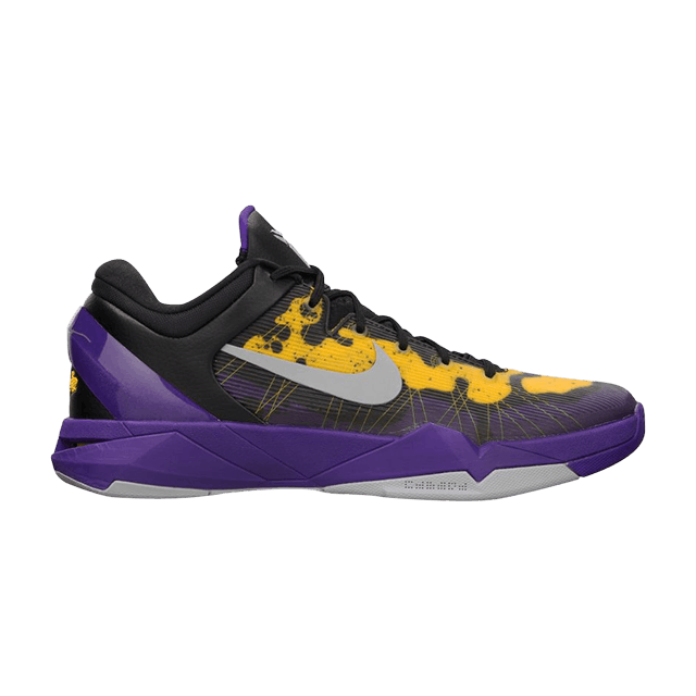 5d5f44cfb40b Zoom Kobe 7  Poison Dart Frog Lakers  - Nike - 488371 500