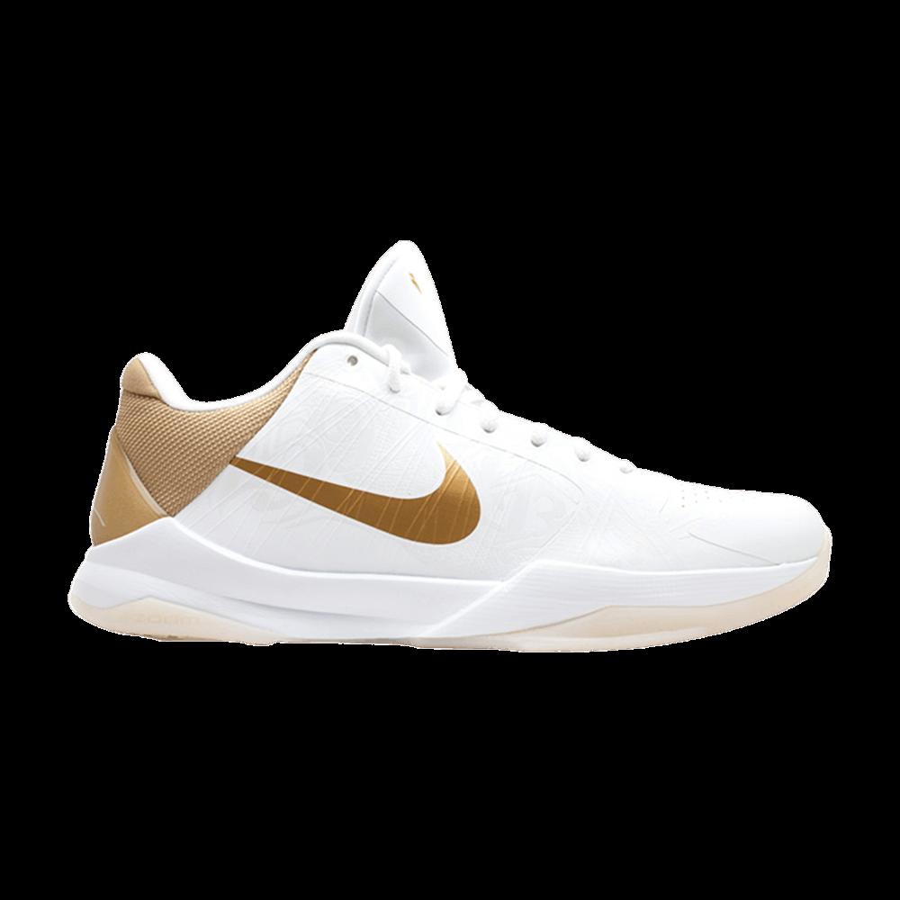 7ccf7aa8a7d70b Zoom Kobe 5  Big Stage Home  - Nike - 386429 108