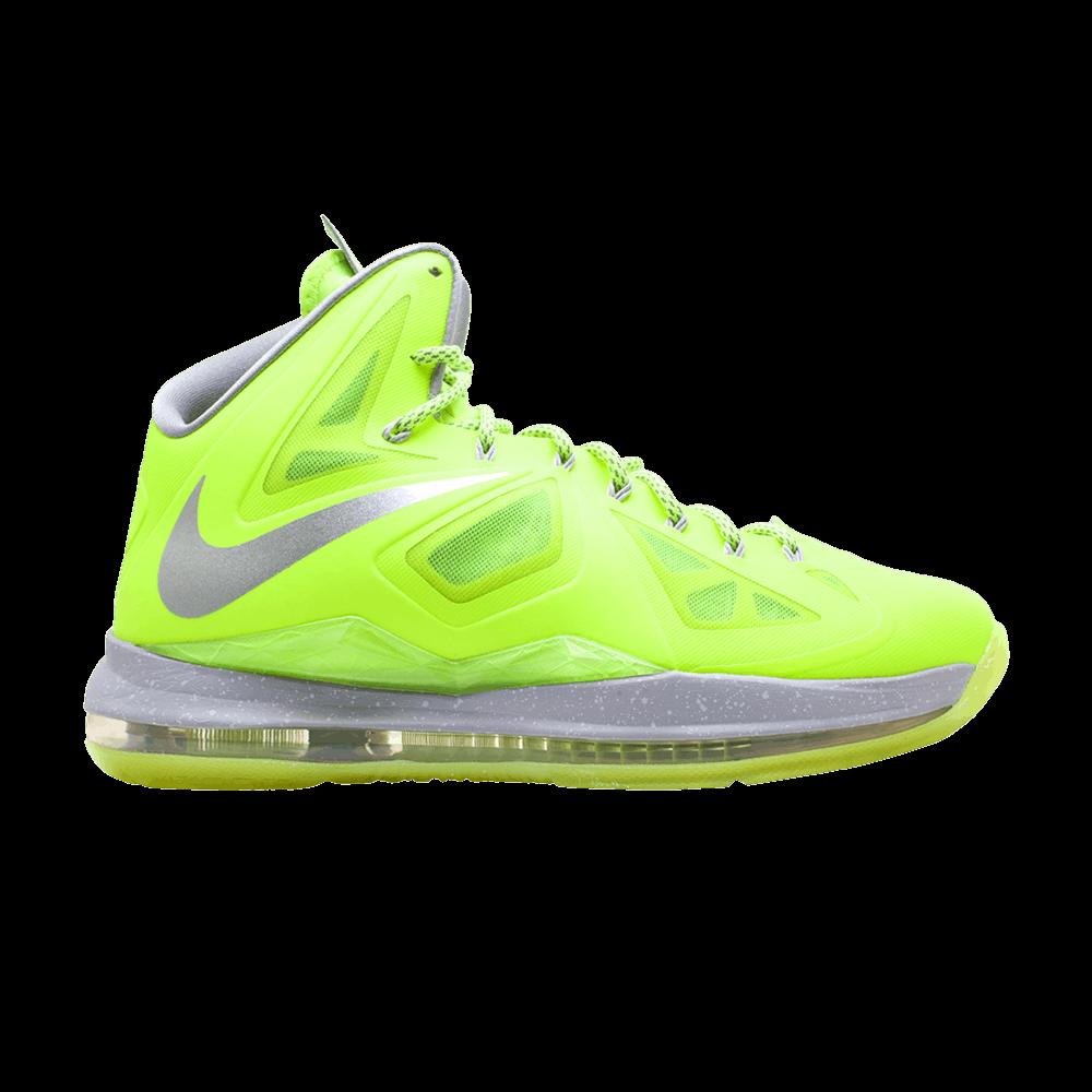 huge selection of 76fb5 3b406 LeBron 10  Volt  - Nike - 541100 700   GOAT
