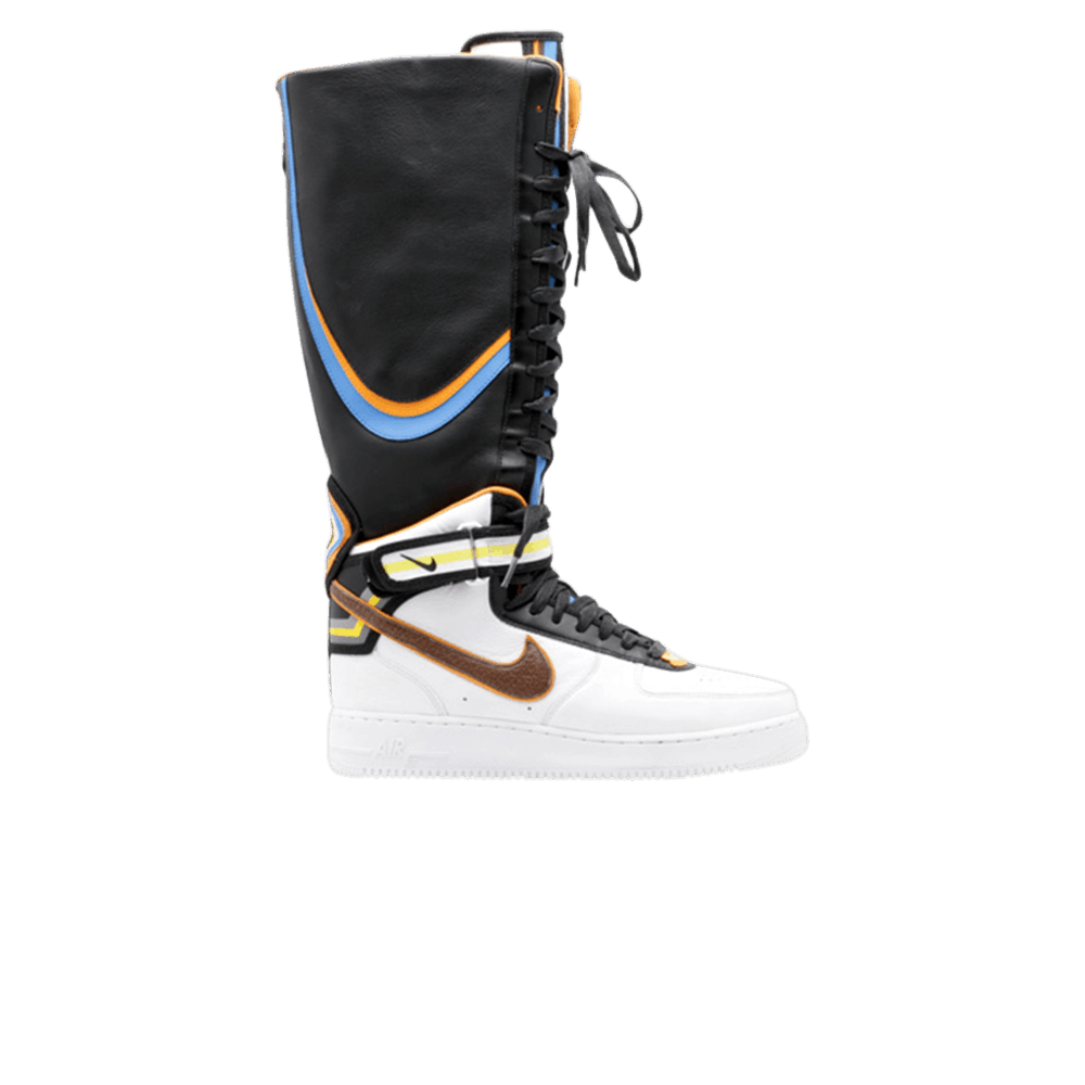 the latest 575d5 2631f Riccardo Tisci x Wmns Air Force 1 Boot SP  White Baroque Brown  - Nike -  669918 120   GOAT