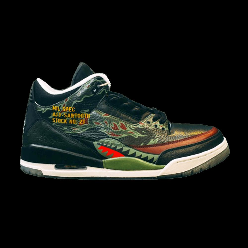 ce86db205aa SBTG x Air Jordan 3  Sawtooth  - Air Jordan - Sawtooth AJ3