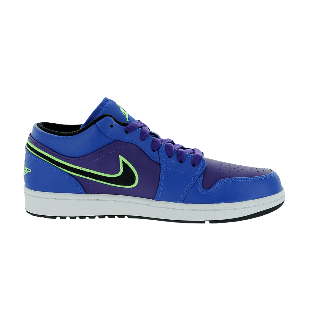 Air Jordan 1 Retro Low  Game Royal Lime  - Air Jordan - 553558 408 ... 9ed2ac49e